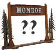 Monroe New Welcome Sign